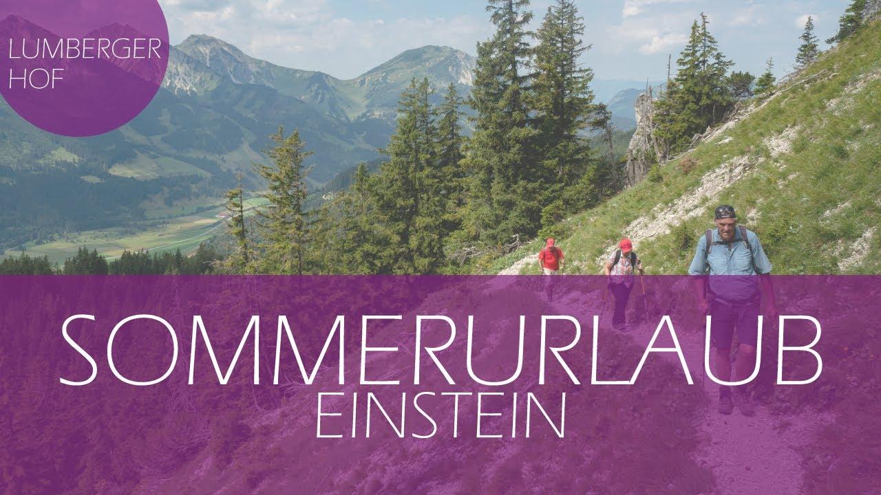 Einstein fr hlingswandern im tannheimer tal youtube for Designhotel tannheimer tal