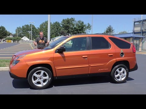 Here's Why the Ugly Pontiac Aztek Is Becoming Cool