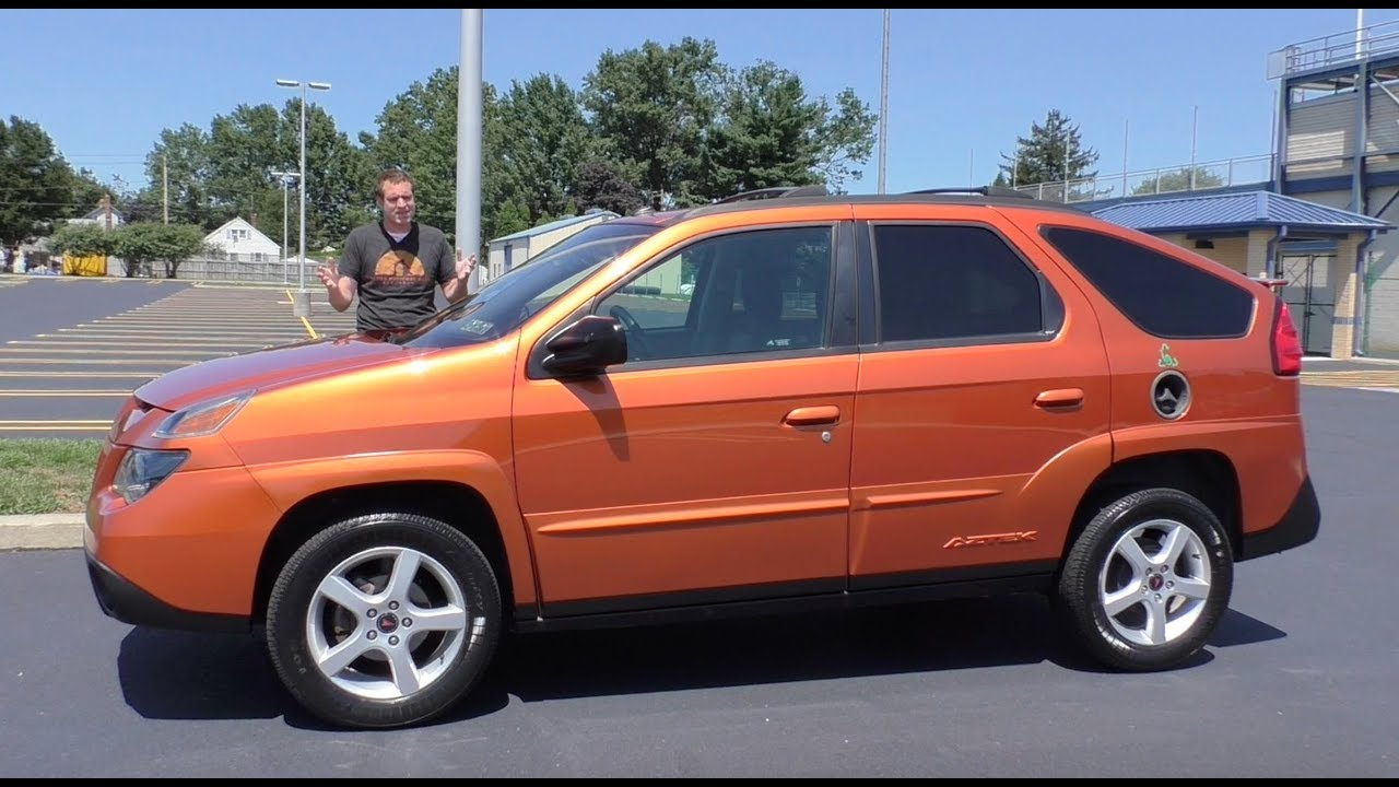 Here S Why The Ugly Pontiac Aztek Is Becoming Cool Youtube