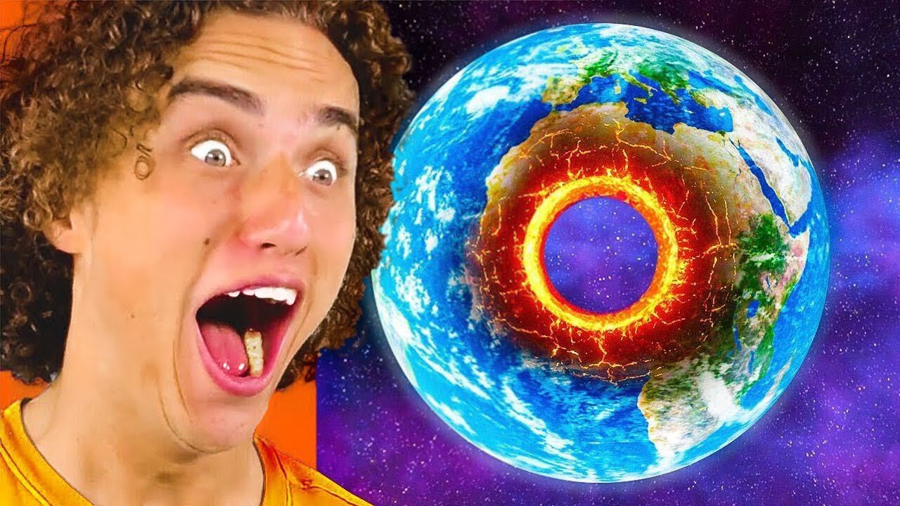 I Blasted A Hole Through The Middle Of Planet Earth.