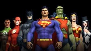 Liga de la Justicia Héroes (cinemáticas en español)