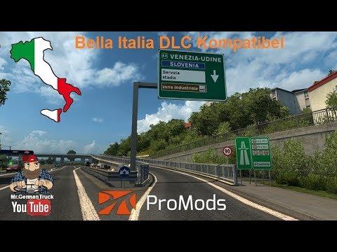 [ETS2 v1.30] ProMods MAP v2.25 + Kompatibel mit Bella Italia DLC