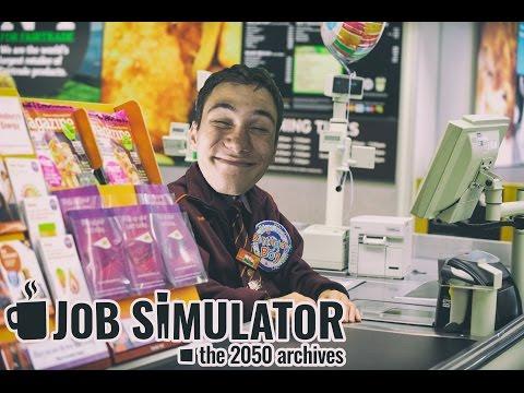 ELKAPTUK A BOLTI RABLÓT | HTC VIVE | Job Simulator