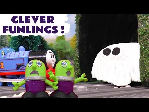 Funny Funlings with Thomas The Tank Engine and Guess The Ghost toy story TT4U