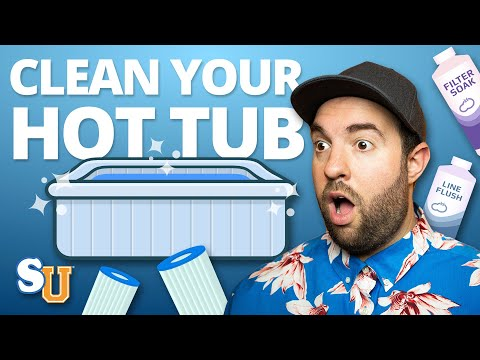 7 Household PRODUCTS That Will CLEAN Your HOT TUB | Swim University