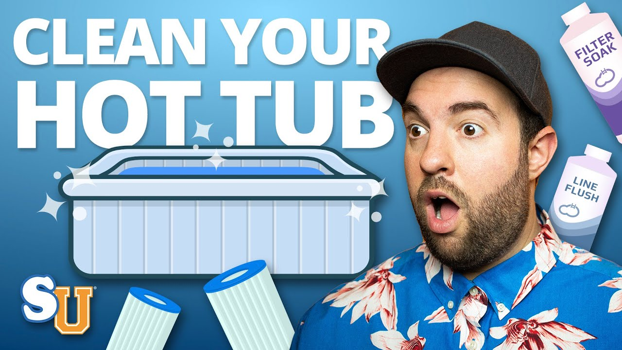 7 Household Products That Will Clean Your Hot Tub - YouTube