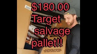 I bought a $180.00 pallet full of salvaged target furniture. Did I just get scammed?