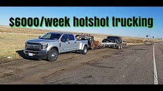 How much money can i make running hotshot trucking. (Real world numbers)