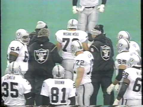 1993 - Week 14 - Los Angeles Raiders at Buffalo Bills