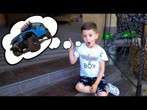 Tema Pretend Play with Magical toys and ride on Power Wheels Cars for kids Funny video for children