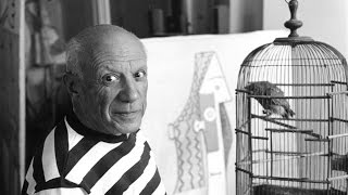 Pablo Picasso. Brief biography and paintings. Great for kids and esl.