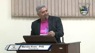 35ª Sessão Ordinária - Vereador Marcão Alves