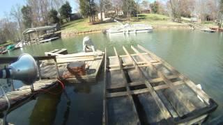 Building A Floating Dock