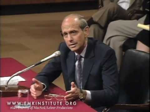 Stephen Breyer: Supreme Court Nomination Hearings from PBS NewsHour and EMK Institute