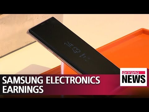 Samsung Electronics releases earnings for 2018