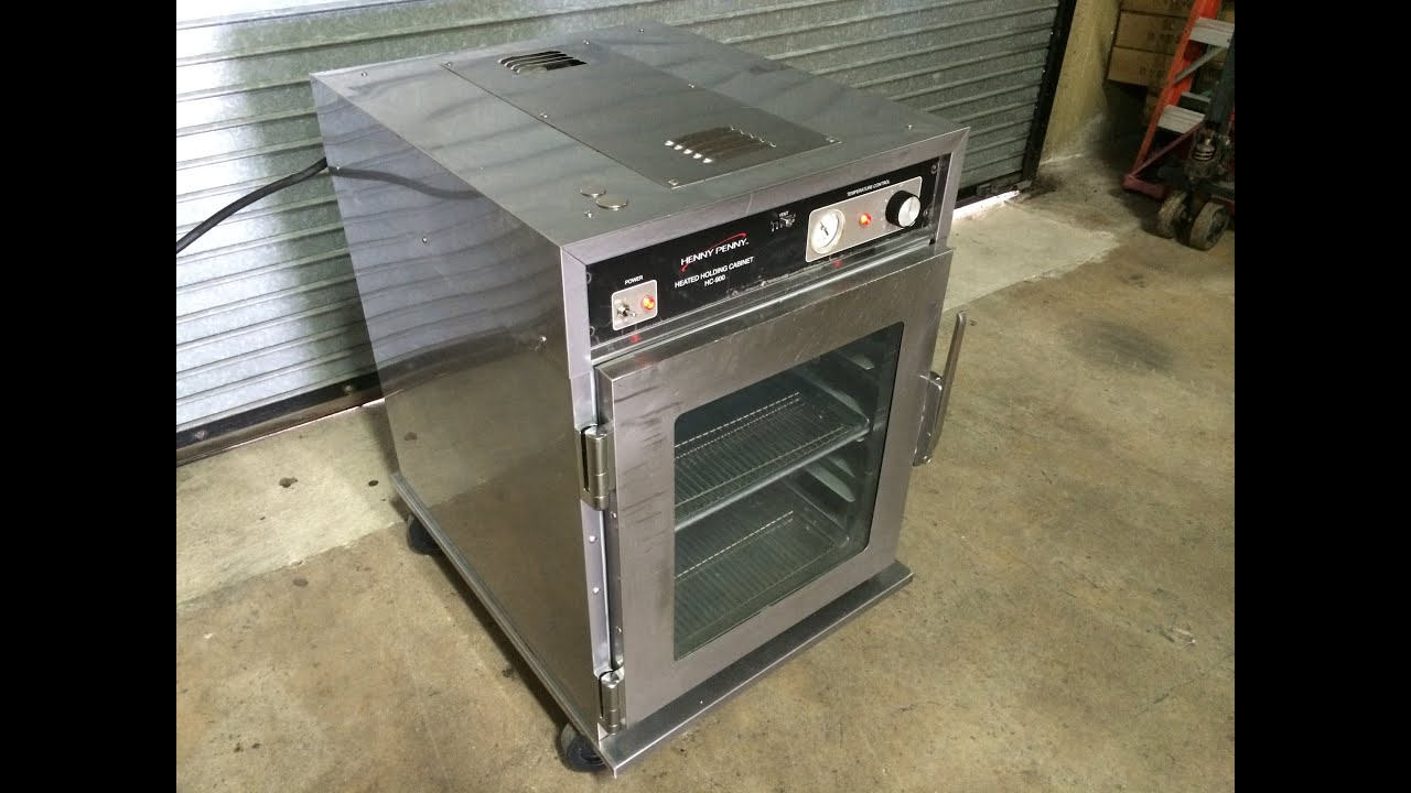 Henny Penny HC-903 Heated Holding Cabinet For Sale - YouTube
