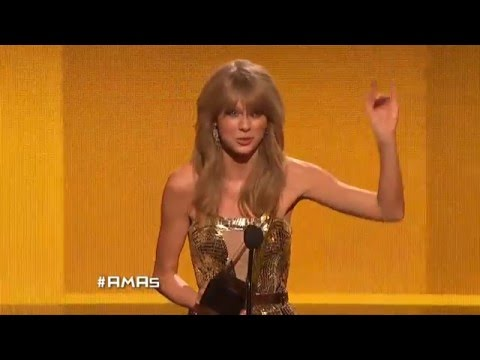 Taylor Swift Wins Country Female - AMA 2013