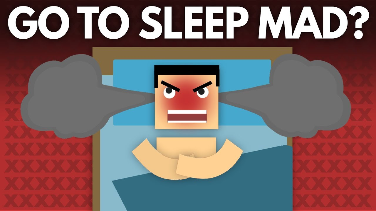 What Happens If You Go To Sleep Mad Dear Blocko 18