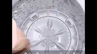 Viên Tẩy Lồng Vệ Sinh Máy Giặt - Nói lời tạm biệt với vi trùng