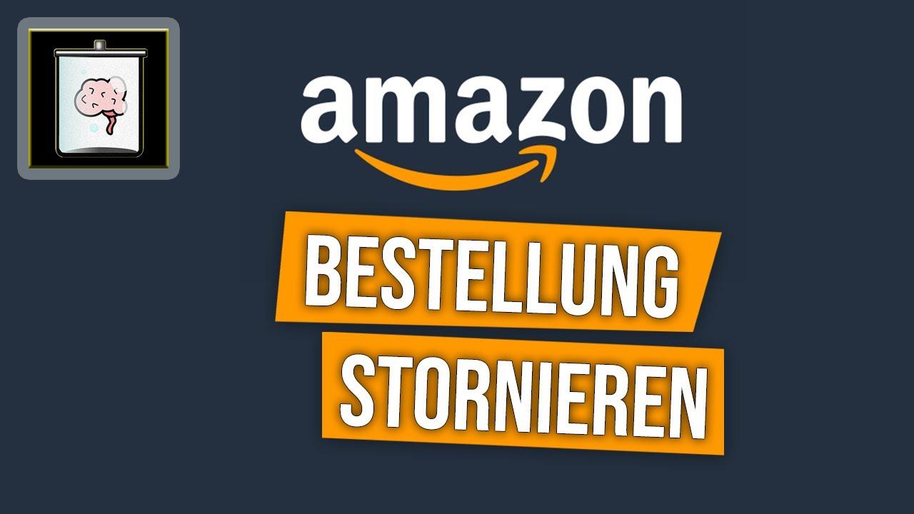Amazon bestellung film stornieren