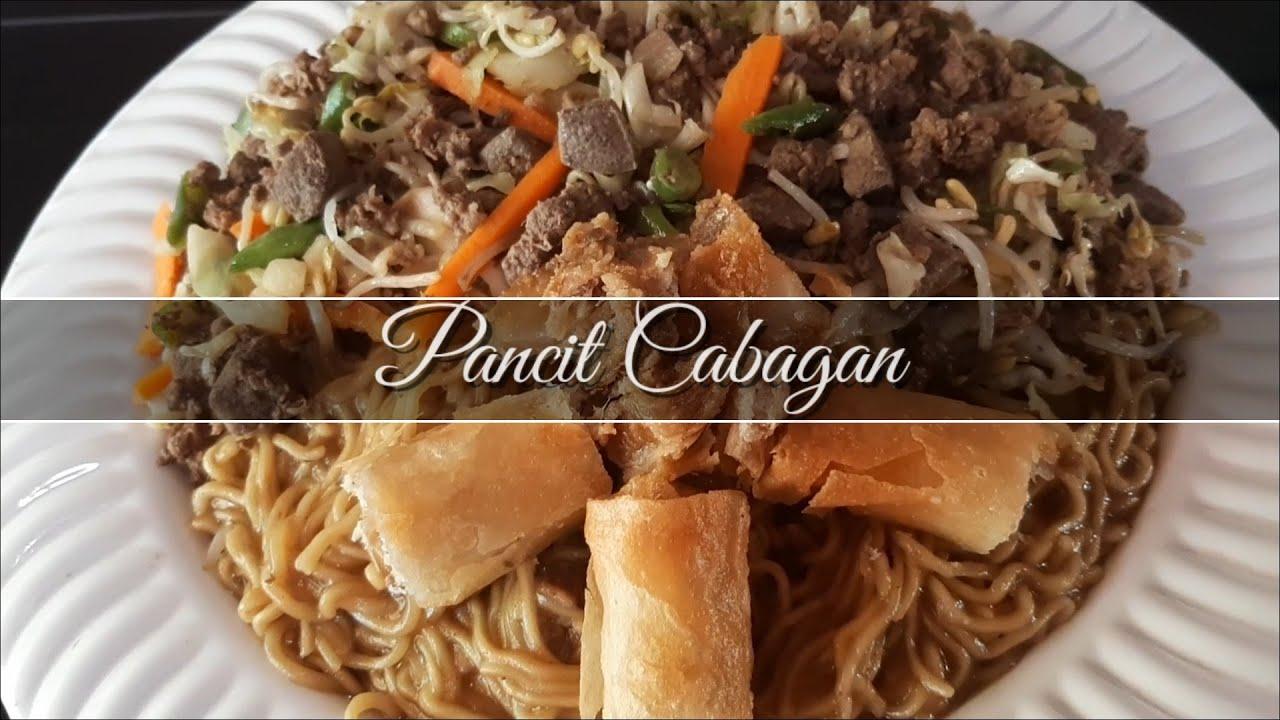 Pancit Cabagan Recipe How To Cook Pancit Of Isabela Kuya Ymann Youtube