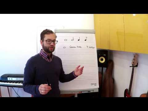 Tutorial Rhythmus Notenwerte