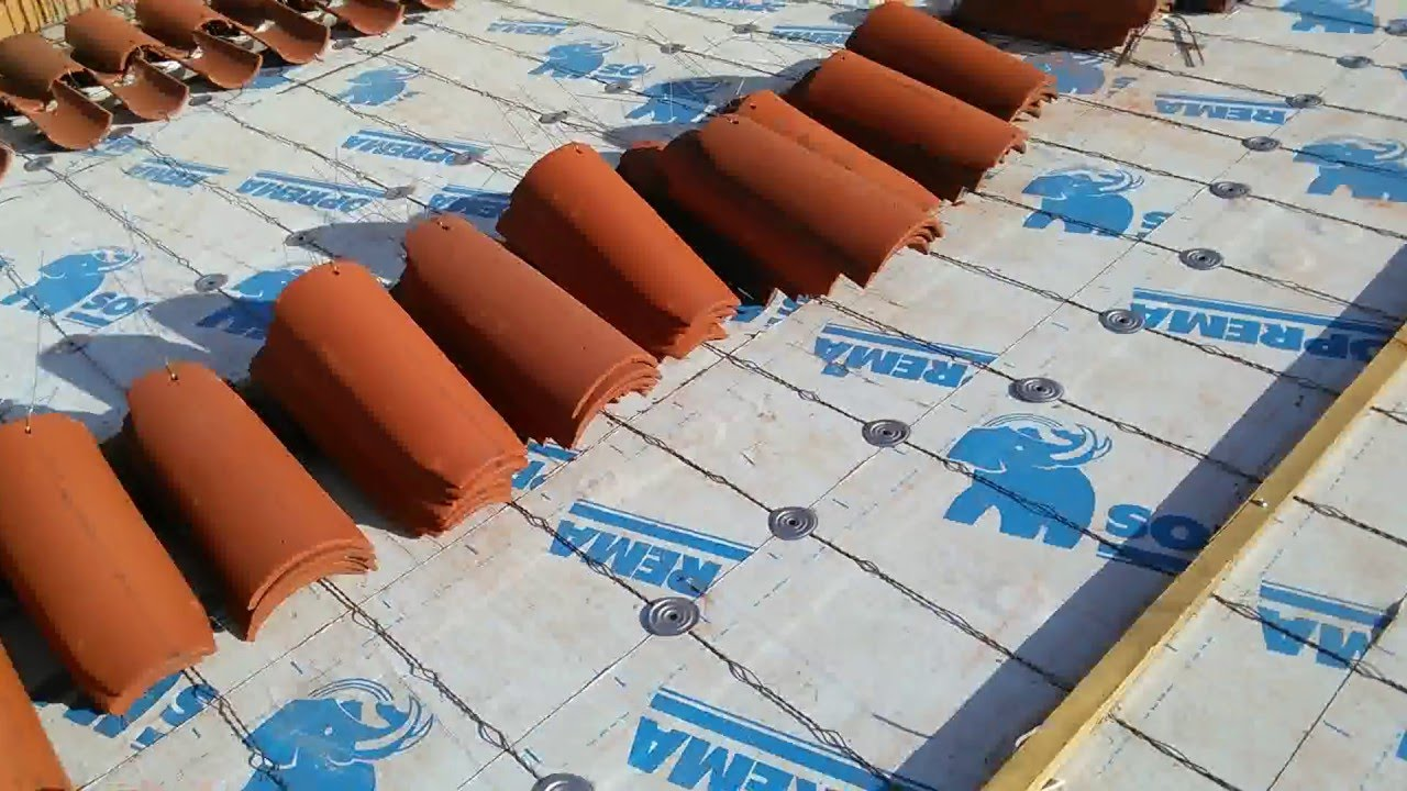 how to install 2 piece mission tile system with tie wires fix water leaks fix roofs