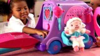 Smyths Toys - Doc McStuffins Get Better Talking Doc - Mobile Clinic
