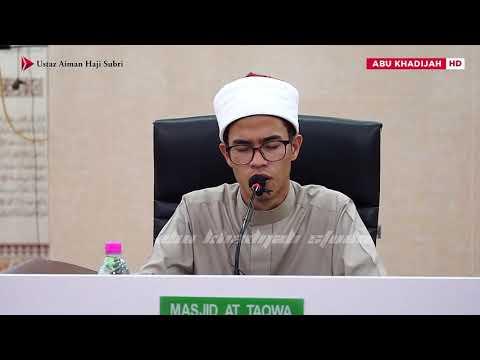 Hasbi Rabbi Jallallah | Ustaz Aiman Subri