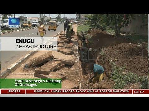 Enugu State Govt Begins Desiting Of Drainages