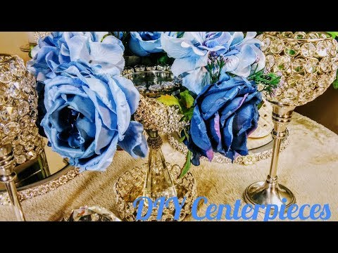 How to| DIY Easy Elegant Wedding Centerpieces💍|DIY Spring Ideas🌻| DIY Glam Decor| Quinceanera✨