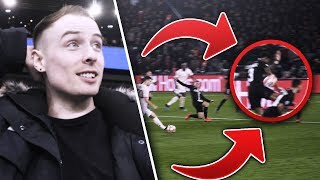 BEST NIGHT OF MY LIFE!!! MANCHESTER UNITED 3-1 PSG!!! ROAD TO MADRID EP. 1