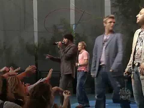 Backstreet Boys - Incomplete (Jay leno 2005)