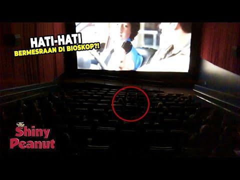 Dikira Gelap Gulita, Ternyata Begini Kelihatannya Kamera Pengawas Di Bioskop