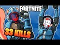 FORTNITE BR - BREAKING OUR PERSONAL DUO BEST! (New Blockbuster Skin) 33 KILLS!