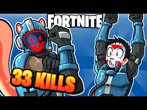 FORTNITE BR - BREAKING OUR PERSONAL DUO BEST! (New Blockbuster Skin) 33 KILLS!