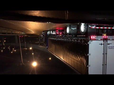 Shots fired after crash on Fremont Bridge