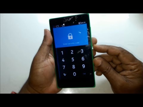Nokia XL 1030 Remove Gmail Account And Pattern Lock,Factory Reset