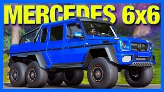 Forza Horizon 4 : MERCEDES 6x6 Customization!! (How To Unlock the 6x6 in FH4)
