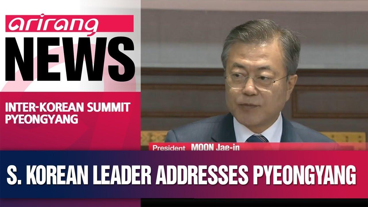 Download President Moon Jae-in speaks to N. Korean audience of 150,000