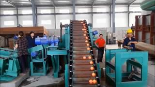 Машина по производству шаров для шаровой мельницы
