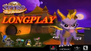 PS1 VERY longplay: Spyro year of the dragon - (Greatest hits version) NTSC