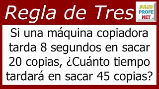 Regla de Tres Simple Directa Problema 2-Simple Rule of Three Direct Issue Problem 2
