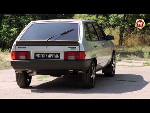 Спойлер крышки багажника «Утиный хвост» Lada (ВАЗ) 2108/2109/2113/2114(russ-artel.ru)
