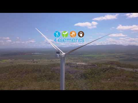 4 Elements Consulting Cairns - Mt Emerald Wind Farm Project Video