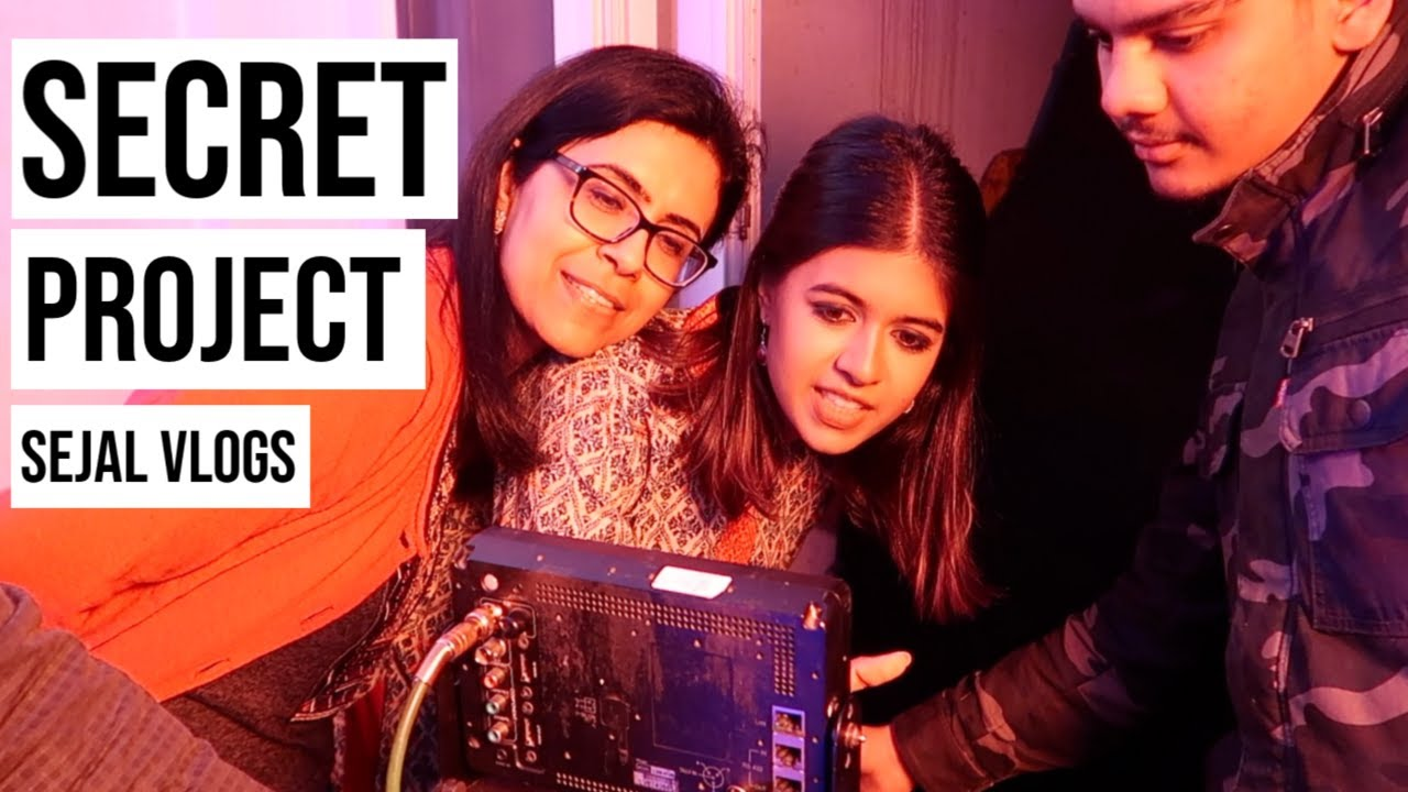 Sejal Vlogs: Secret Project, Engineering Girls Season 2 | Sejal Kumar