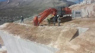 #Amazing Mega Machines Marble and Granite Mining: Excavator, L…