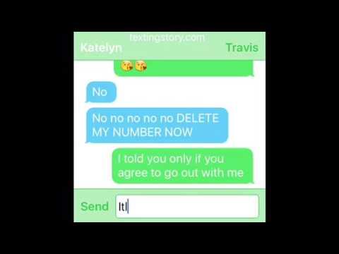 Travis x Katelyn- Travis and Katelyn Texting