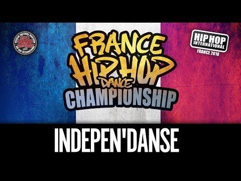 INDEPEN'DANSE CREW - Hip Hop International France 2018 - Catégorie Junior @hhifrance (1ere Place)
