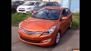 рестайлинг Hyundai Solaris 2014 facelift смотреть